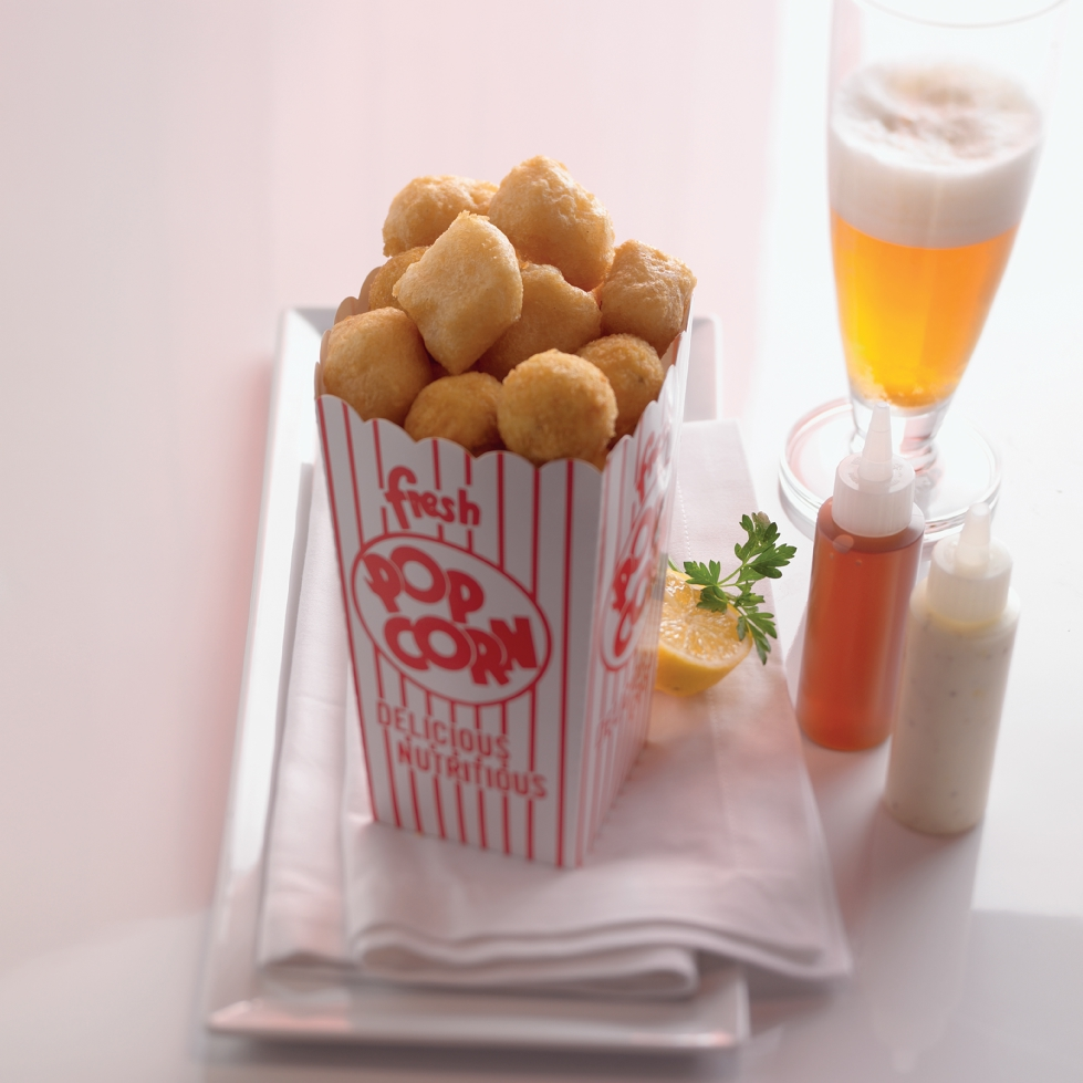 Popcorn Fish and Chips