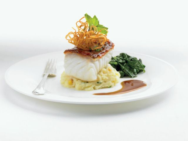 BBQ Glazed Chilean Sea Bass