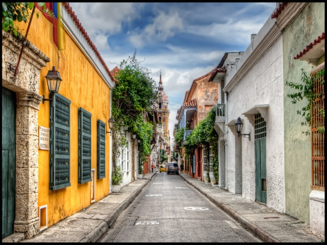 Cruising to Cartagena, Colombia