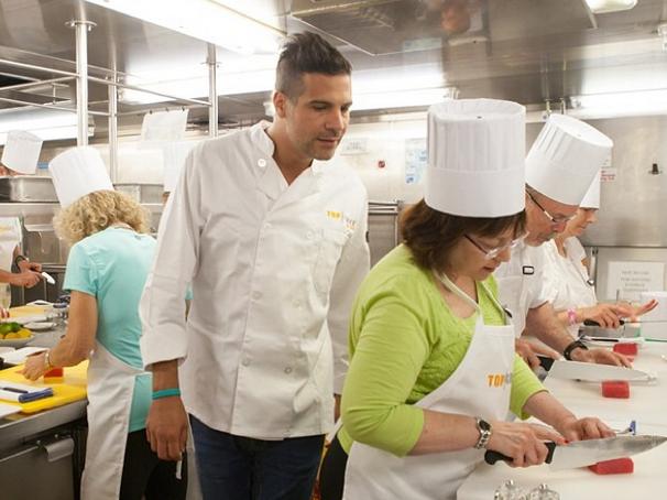 Angelo Sosa Top Chef at Sea