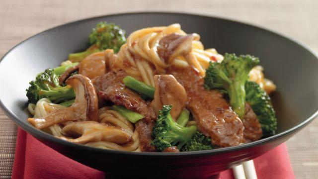 Silk Beef Chow Mein