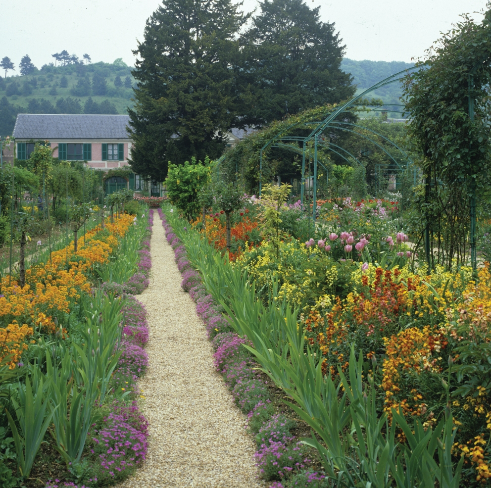 Photographs by Derek Fell from Monet's Palate: The Artist & His Kitchen Garden at Giverny by Aileen Bordman and Derek Fell, reprinted by permission of Gibbs Smith.
